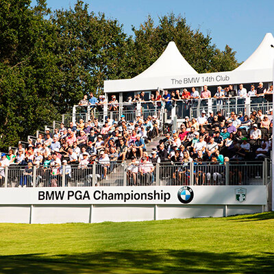 BMW PGA championship experiential experience