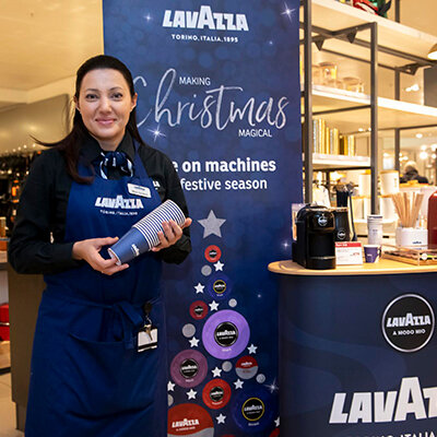 Lavazza promotional staffing